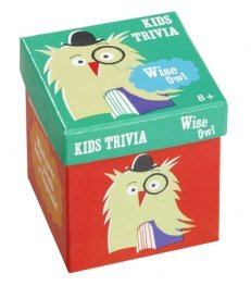 Talking Tables Top Class Trivia - Wise Owl Childrens Trivia code - TCT-K-OWL-VO TALKING TABLES