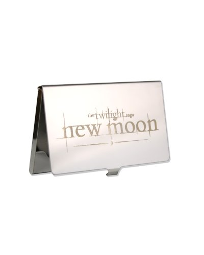 Twilight New Moon Etched Business Card Holder - 1