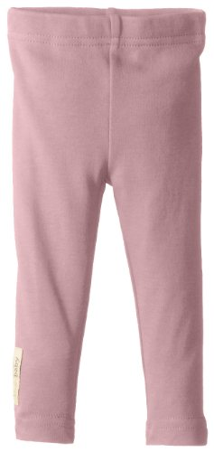 L'Ovedbaby Baby-Girls Newborn Organic Leggings, Mauve, 12/18 Months back-680338
