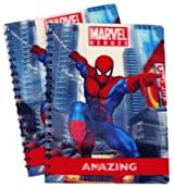 Marvel Spiderman Spiral Notebooks (2 pcs set)