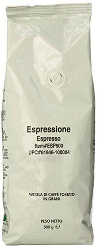 Espressione Espresso Blend Whole Bean Coffee, 500-Grams (Espressione Coffee Grinder compare prices)