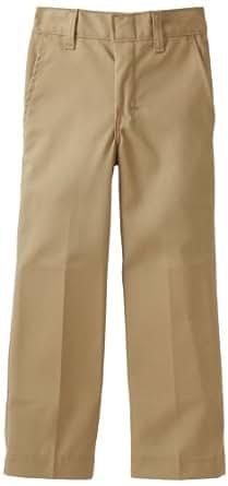 Dickies Boys 8-20 Flat Front Pant, Khaki, 10 Regular