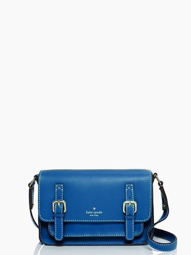 Kate Spade New York Essex Scout Leather Cross-Body, Bluebell