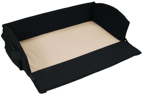 Leachco - Nap 'N Pack 4 In 1 Anywhere Bed, Black With Khaki Sheet