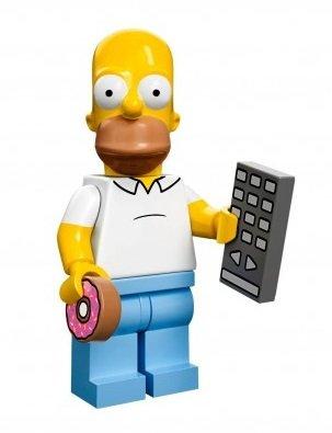 Toyland The Simpsons Lego Mini Figure Homer
