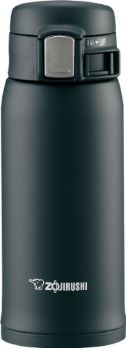 Zojirushi Sm-Sa36-Ba Stainless Steel Mug, 12-Ounce, Black back-571601