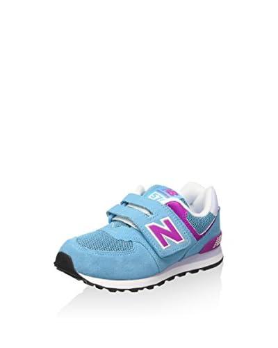 New Balance Zapatillas Nbkv574P3P Azul / Fucsia