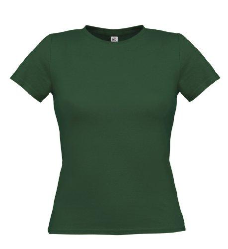 T-Shirt 'Women Only', Farbe:Bottle Green;Größe:XL XL,Bottle Green
