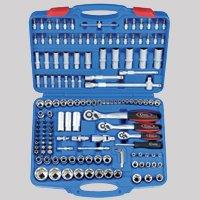 SteckschlüsselSatz, 1/4 + 3/8 + 1/2Antrieb, 150tlg.  BaumarktKritiken und weitere Informationen