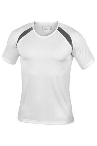 Hanes Herren Sporthemd ohne Logo - Weiß - Weiß - Medium M,Weiß - Weiß