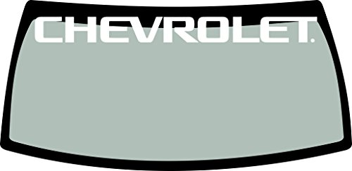 Chevrolet Windshield Banner Decal 40