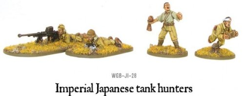 Imperial Japanese Tank Hunter Miniatures