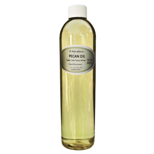 Pecan OIL Organic Pure Cold Pressed 12 Oz