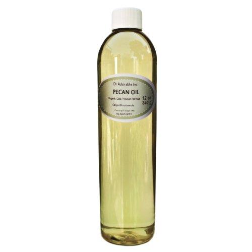 Pecan OIL Organic Pure Cold Pressed 12 Oz