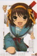 The Melancholy of Haruhi Suzumiya Cloth Wall Scroll Poster T-002