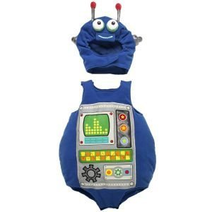 The Children'S Place Child Robot Costume Size 6-12 Months front-90578