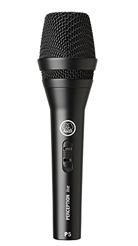 Akg Pro Audio P5S Vocal Dynamic Microphone, Super-Cardioid