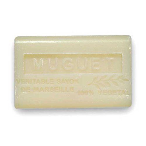 (南仏産マルセイユソープ)SAVON de Marseille スズランの香り(SP008)(125g)