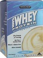 Biochem Sports 100% Whey Protein Packet (30.3 G) - Vanilla 10 Packs