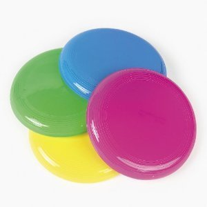 Fun Express - Mini Flying Saucer Assortment 6 dz