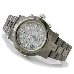Buy Renato Men's Collezioni T-Rex Gunmetal Carbon Fiber Chronograph Watch
