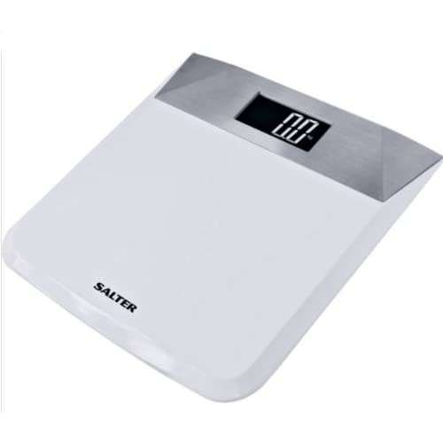 Salter 9078 WH3R Stainless Steel Electronic Bathroom Scale