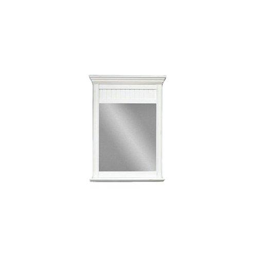 Sagehill Designs CR3040MR Cottage Retreat 30-Inch Mirror with Shelf Antique White