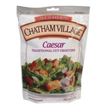 Chatham Village Caesar Croutons 5 oz. (Pack of 12)