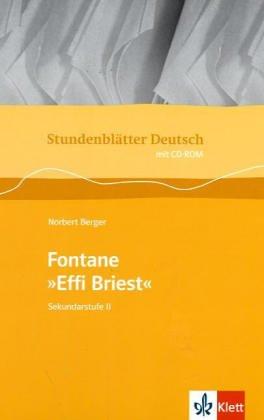 Stundenblätter Effi Briest. Mit CD-ROM für Windows ab 95