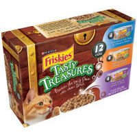 Friskies Tasty Treasures Canned Cat Food Variety Pack 5.5-oz