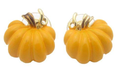 Harvest Thanksgiving Pumpkin Earrings - Great for All Autumn Long!