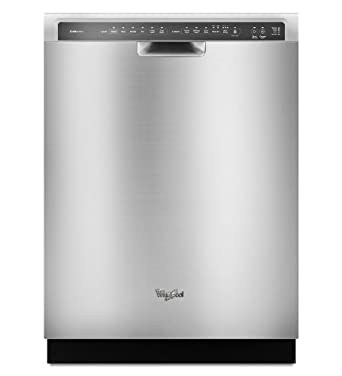 """Whirlpool WDF775SAYM 24"""" Stainless Steel Full Console Dishwasher - Energy Star"""