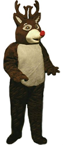 Mascots USA by CJs Huggables Custom Pro Low Cost Reinder Mascot Costume