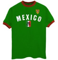 Mexico soccer ringer t shirt for Soccer girl problems t shirts