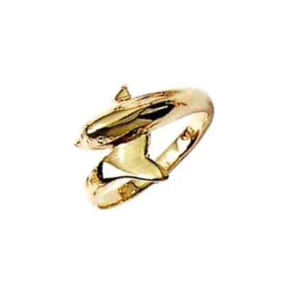 Child 18K Gold Plated Dolphin Ring