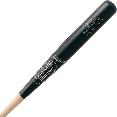 Louisville 2Tone Hard Maple Youth Wood Baseball Bat , Teal, 31