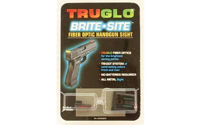 Truglo Fiber Optic Handgun Sight Set - S&W M&P,