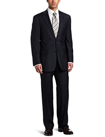 Austin Reed Men's Stripe Suit Separate Classic Coat,  Navy Stripe, 39 R