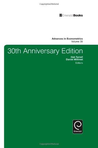 30Th Anniversary Edition: Advances in Econometrics