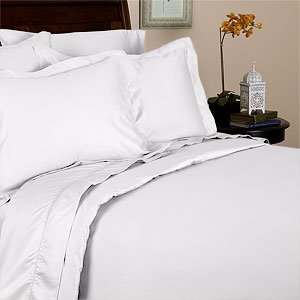 Percale Solid White 300 Thread Count Full/queen