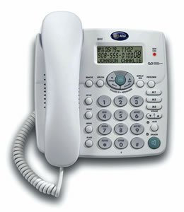 at t corded phone with answering machine