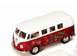 Volkswagen Classical Hippie Bus (1962) 1/32 Scale - 1