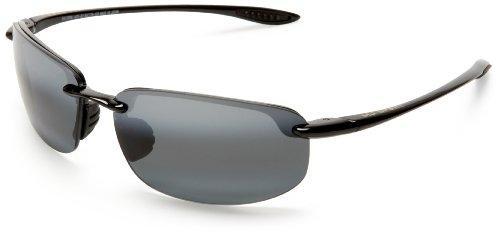 Maui Jim Hookipa 407-02 Gloss Black Sunglasses