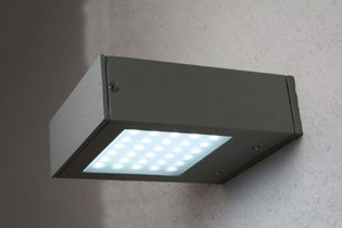 LED Aussenwandleuchte GAIA 45mm