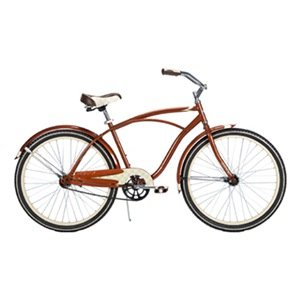 Huffy Men's Good Vibration Bike (Cinnamon Metallic, Large/26-Inch)