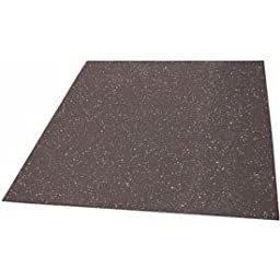 Non-Pentrating Roof Mount Rubber Mat