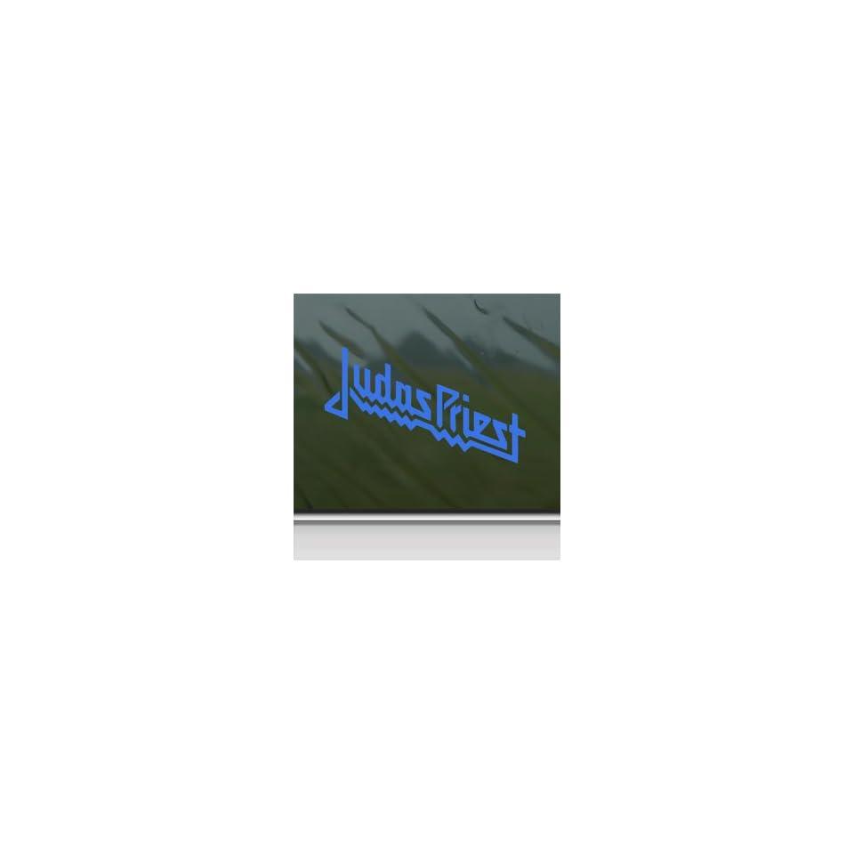 Judas Priest Blue Decal Metal Rock Band Window Blue Sticker