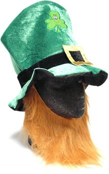 Fabric Leprechaun Hat with Beard