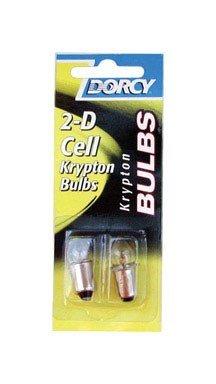 Dorcy Flashlight Bulb Krypton Card 2.4 V