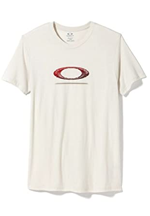 Oakley Ellipse Dark Side Mens T-Shirt (Large) - Crystal Grey